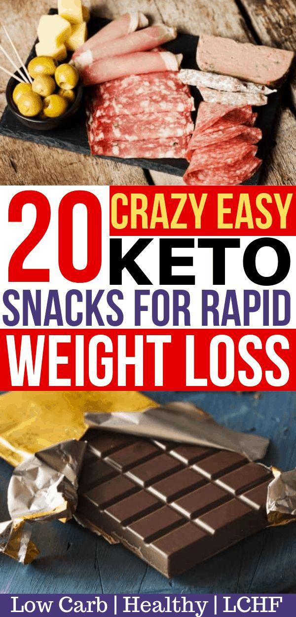 Brauchen Sie ein paar einfache Keto-Snacks? Dies sind die BESTEN Low Carb Snack-Ideen für Ihre Ke …