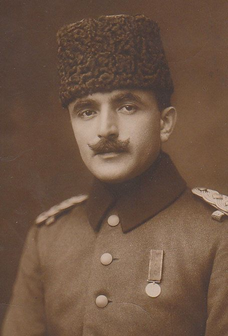Enver Pasha was an Ottoman military officer and a leader of the 1908 Young Turk Revolution. He was the main leader of the Ottoman Empire in both Balkan Wars and WW I. Enver proved ineffective as War Minister. Faced with defeat, the Sultan dismissed Enver from his post as War Minister on 4 October 1918.