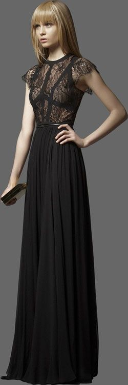 Sucker for this Ellie Saab dress. Stop with the ellie saab obsession you say? Not a chance