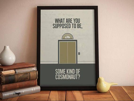 Ghostbusters  minimalist movie poster  movie quotes  movie
