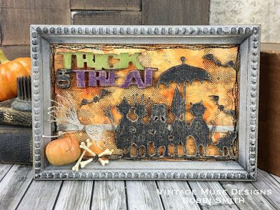 Tim Holtz Halloween Sizzix Trick-or-Treat Thinlits dies