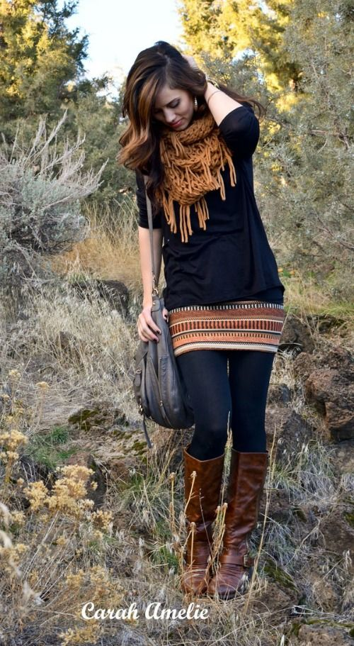 Tips For Wearing Skirts in the Winter -  http://jessexplainsitall.com/wearing-skirts-in-the-winter/