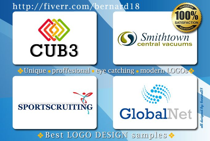 bernard18: design a LOGO with unlimited revisions for $5, on fiverr.com