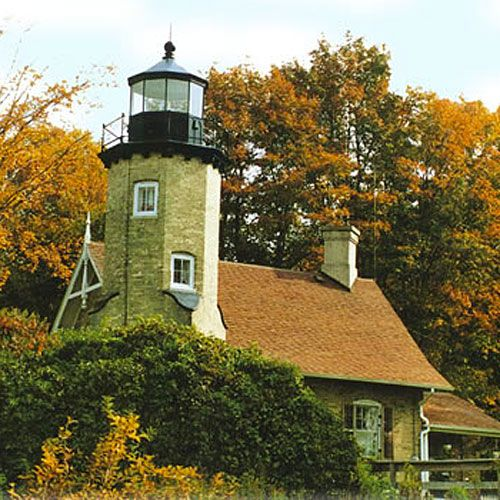 Westlight House: 155 Best Michigan Lighthouses & Benzie Co. Area Images On