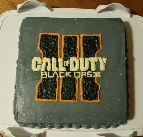 Black ops 3 cake for calebs bday!!