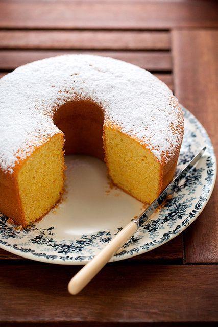Sweet Rice Flour Cake