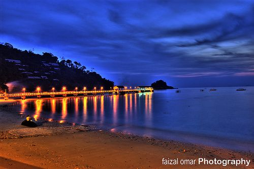 Salang Beach Isla Tioman, Malasia
