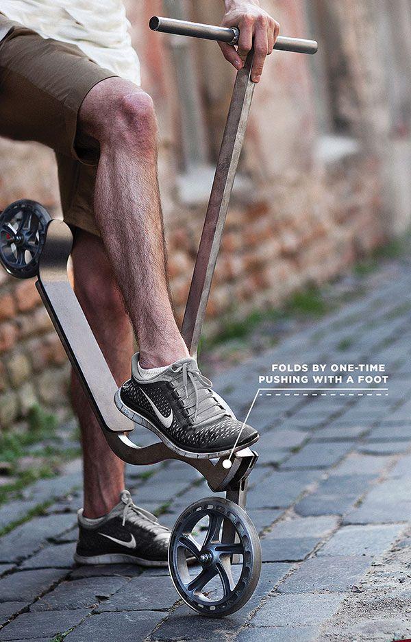 Pigeon - Kick Scooter by Ignas Survila » Yanko Design