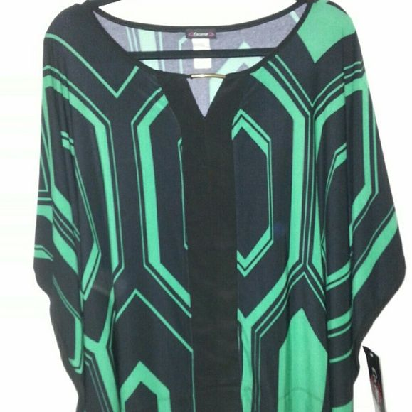 ●●Final mark down ●●Kaftan  Top Brand new. Very soft stretchy material. Tops