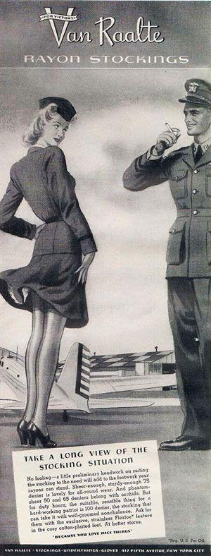 vintage stocking fashion | Glamourdaze