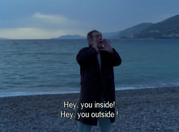 """The Beekeeper"" by Theo Angelopoulos, Greece, 1986, screen capture at 1hr"