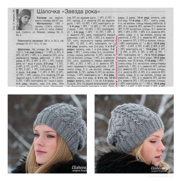 этом фасоны вязаных шапок фото и схемы вязания относился категории так
