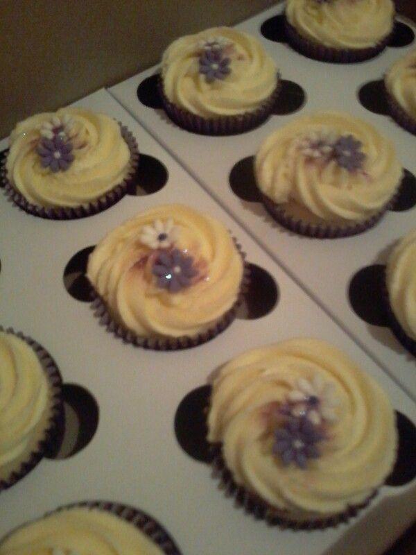 Tutifruiti cupcakes