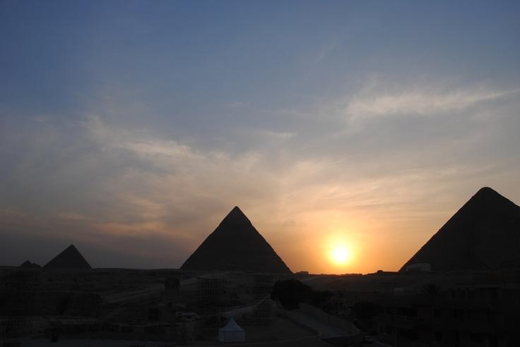 Pyramids by Antoine & Béné , via 500px