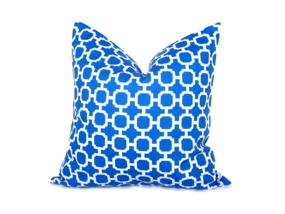 Royal Blue Outdoor Throw Pillows : Decorative Throw Pillow Covers Blue Pillow Throw Pillow Covers 20x20 Outdoor Pillow Royal Blue ...
