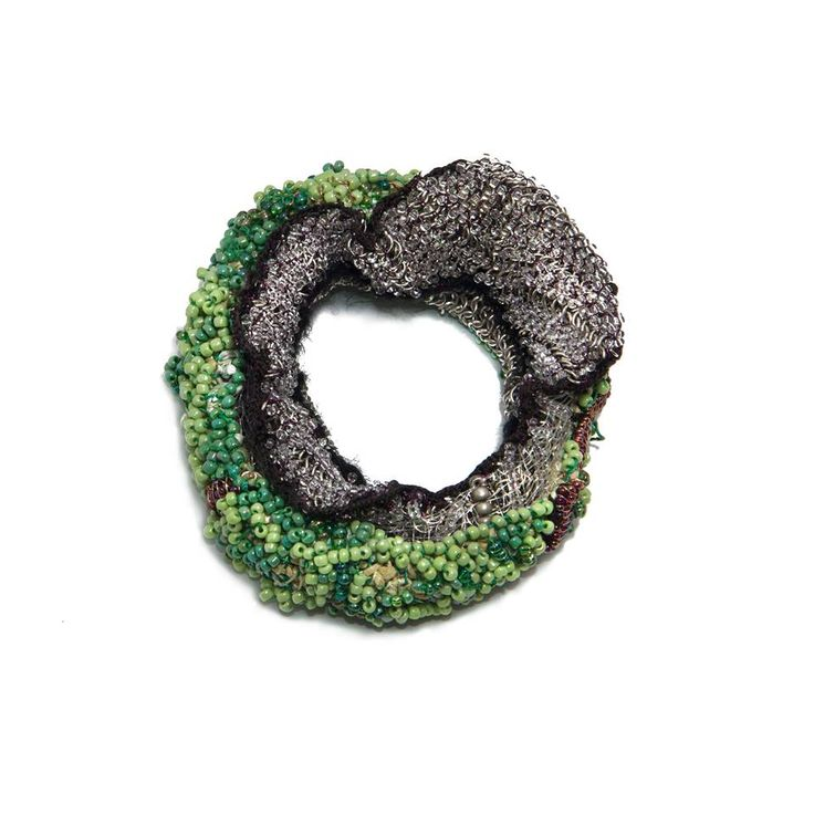 Sébastien Carré - Bracelet Inflammation # 6, 2013 11 x 11 x 4 cm Photo: Milo Lee - Wcc-bf: