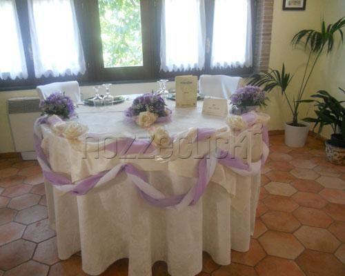 Risultati immagini per allestimento tavolo sposi - Addobbi tavoli matrimonio casa ...