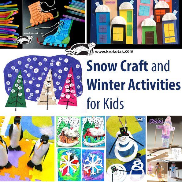 winter kids crafts