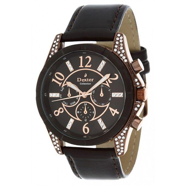 Dx 229 3k Bayan Kol Saati Lidyana Saat Dexter Saat In 2020 Leather Watch Dexter Leather
