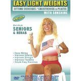 Seniors / Elderly Sitting Lightweight / Dumbbells Exercises for Strength, Rehab & Physical Therapy. This Seniors Light weights dumbbells fitness DVD is Good also for Easy Osteoporosis Exercises, Diabetes Exercises, Arthritis Exercises, Alzheimer's Exercises DVD.Sunshine is a Certified AARP Trainer by ACE, The American Council on Exercise. (DVD)By Sunshine