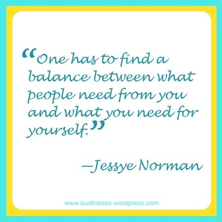Life Balance Quotes | One has to find a balance between what people need from you and what ...