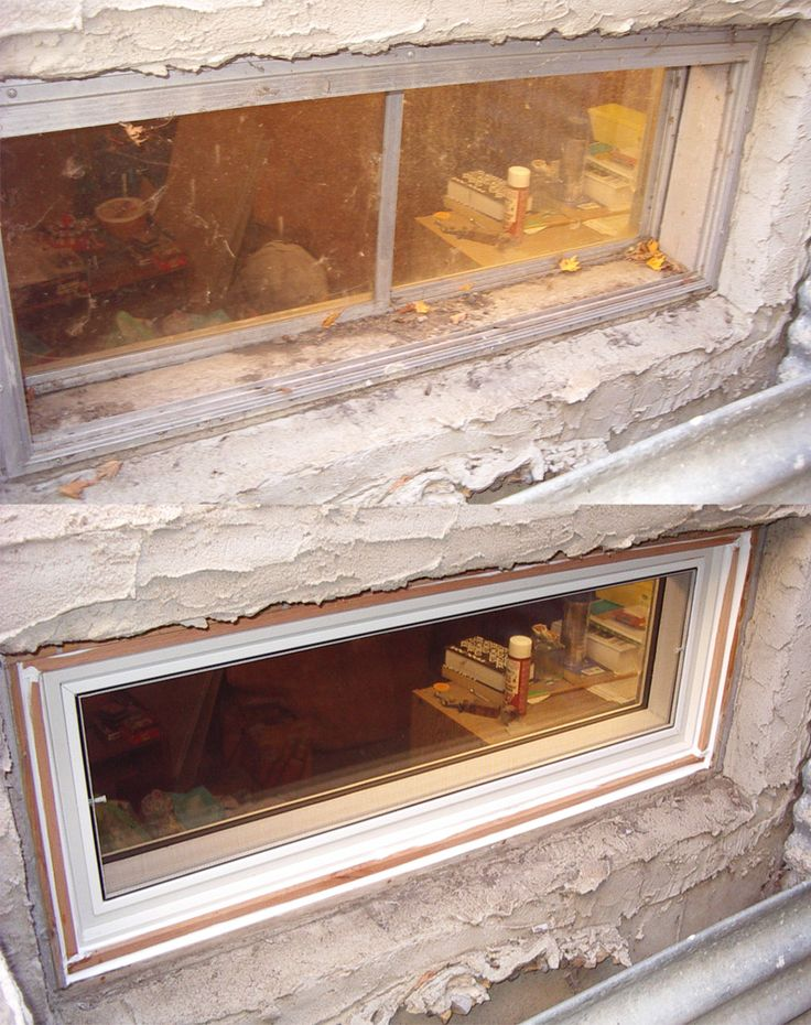 Best 25 house window replacement ideas on pinterest for Basement window replacement
