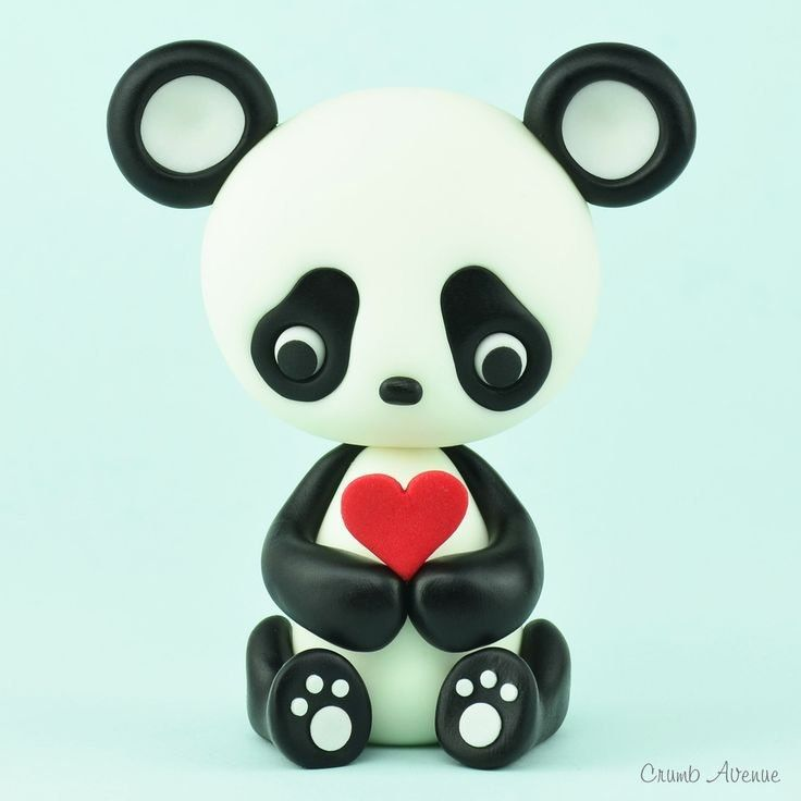 Лепим панду 👌🏻