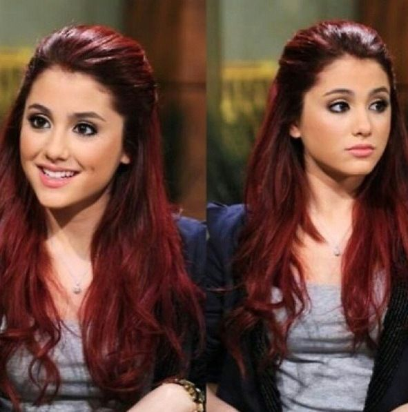 Her red hair <3 .. i think i want it.