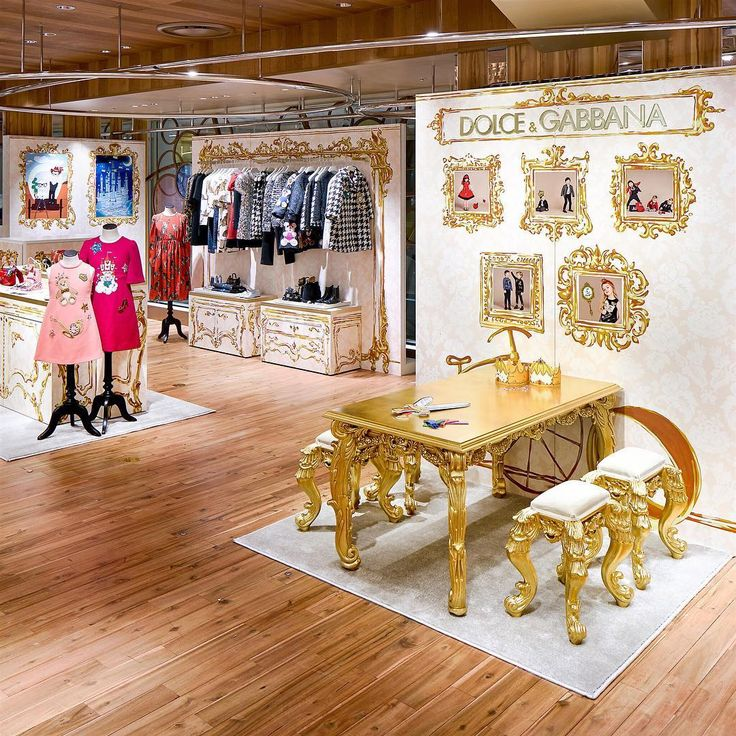 """ISETAN, Shinjuku, Tokyo, Japan, """"DG Loves Japan"""", for Dolce&Gabbana Bambino, pinned by Ton van der Veer"""