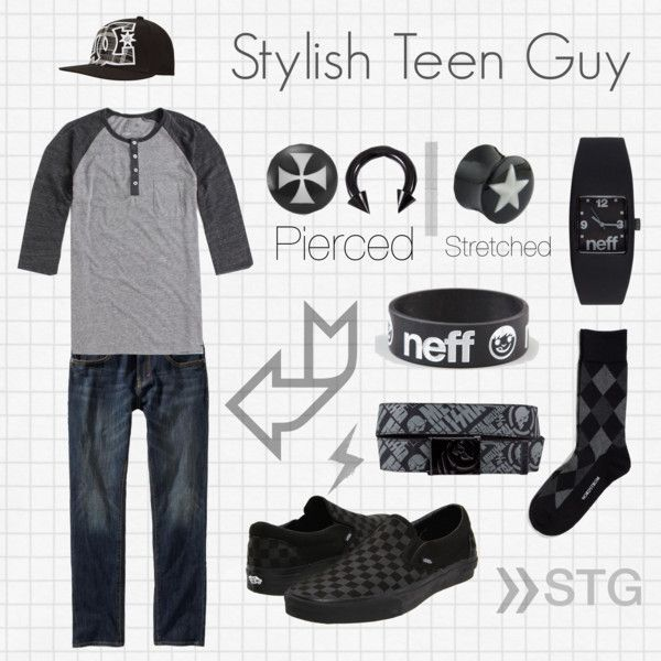 Stylish Teen Guy #3, created by stylish-teen-guy on Polyvore