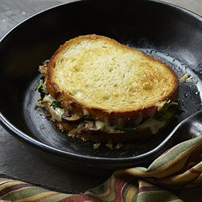Broccoli Rabe and Fontina Grilled Cheese | Come Dine with Moi :) | Pi ...