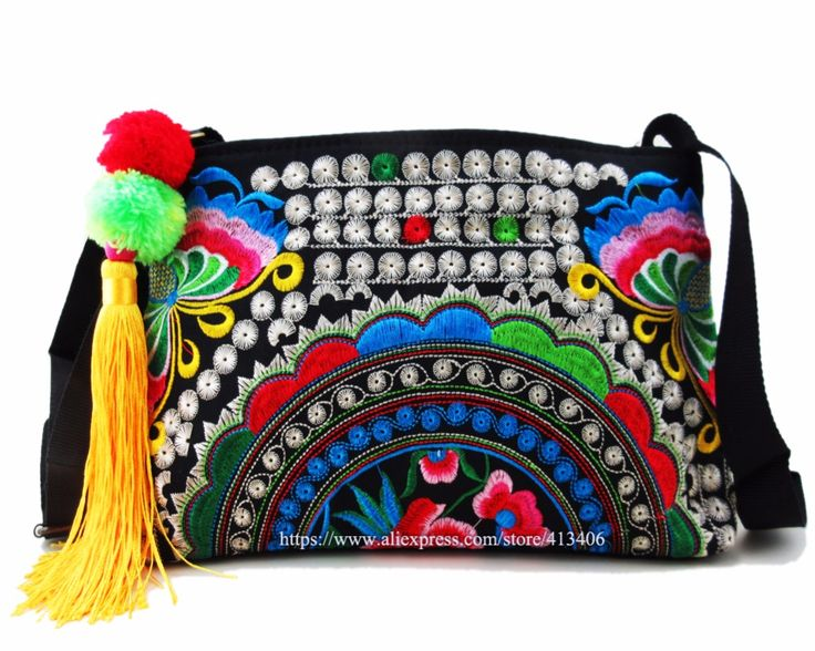Online Shopping at a cheapest price for Automotive, Phones & Accessories, Computers & Electronics, Fashion, Beauty & Health, Home & Garden, Toys & Sports, Weddings & Events and more; just about anything else#hmong bohemian bag#embroidery pom bag#shoulder purse bag