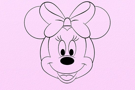 Draw minnie mouse mice to draw and masks for How to draw with a mouse