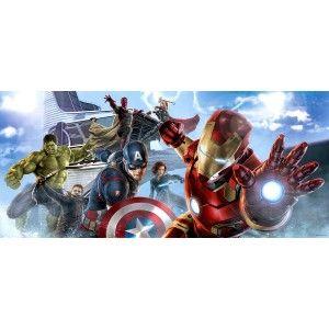 Szuperhősök poszter, Hulk, Avengers, Ironman (202 cm x 90 cm)