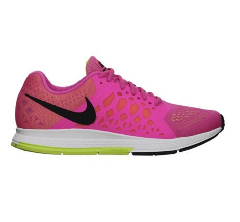 Nike Air Zoom Pegasus 31 in Hyper Pink. You'll be faster because you'll look amazing. From STYLERUNNER.COM