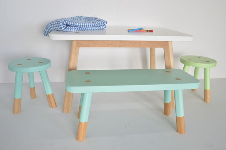The most beautiful Children's Table and Chairs we have ever seen! If you are on…