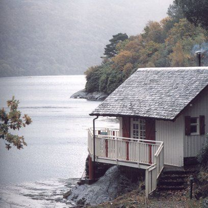 The Lodge on Loch Goil, Argyll. Find this and more of the best places for a weekend away with friends at Redonline.co.uk