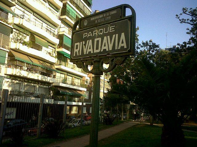 Parque Rivadavia en Baires, Buenos Aires C.F.