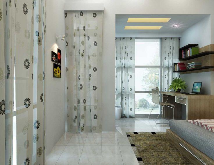 People Areas Kids Room Circular Curtains Design Home Ideas