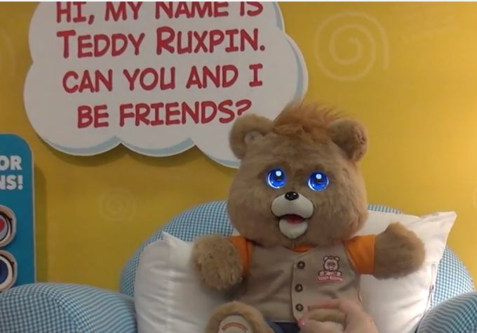 Teddy Ruxpin returns with eyes that can rend the bonds of space and time