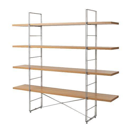 Ikea enetri shelf haus ikea pinterest ikea hacks for Ikea metal frame shelf