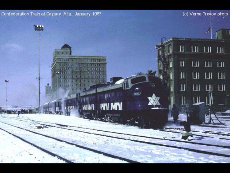 Confederation Train 1967