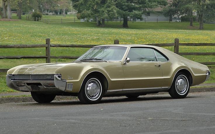 1967 Olds Toronado Gold