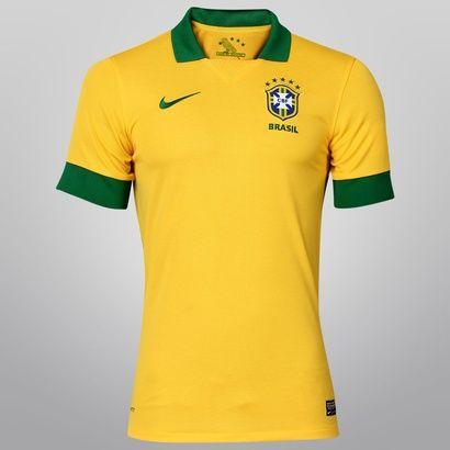 Camisa Nike Seleção Brasileira 2013 I