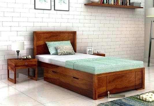 außergewöhnliche Betten mit Stauraum unter Ihnen ...