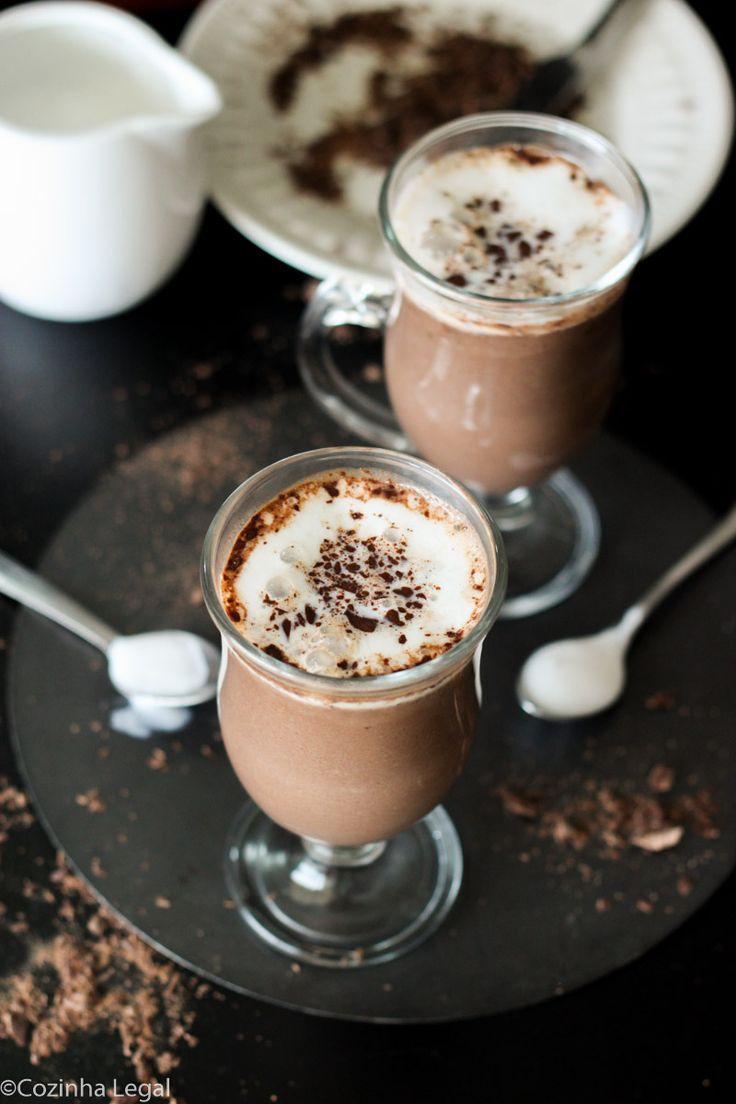 Chocolate Quente   Cozinha Legal