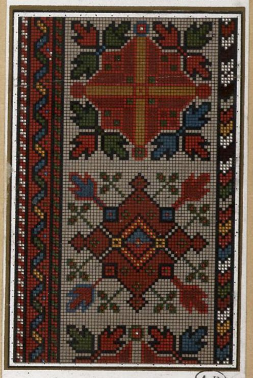 Gallery.ru / Фото #18 - старинные ковры и схемы для вышивки - SvetlanN