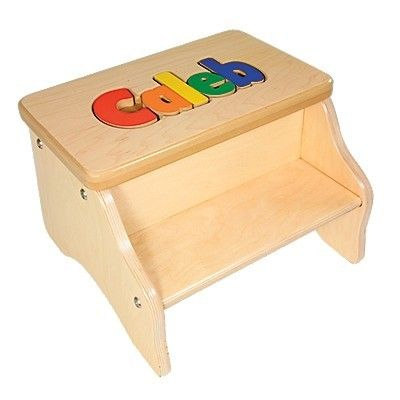 My Step Stool - Two Step Puzzle Stool $69.99 (//. Personalized ...  sc 1 st  Pinterest & 120 best Every child needs a step stool images on Pinterest | Step ... islam-shia.org