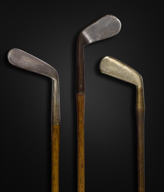 Early #golf clubs from around 1900 stamped J.H. Oke and Wm. Park #HistoryWeek2015