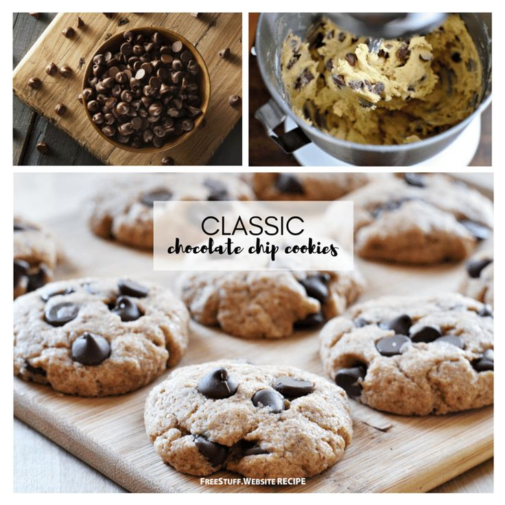 The ever so popular chocolate chip cookie is always a welcome treat. It's perfect for a potluck, party or any time!